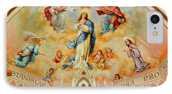St. Stanislaus Church IPhone Case by Cindy Croal