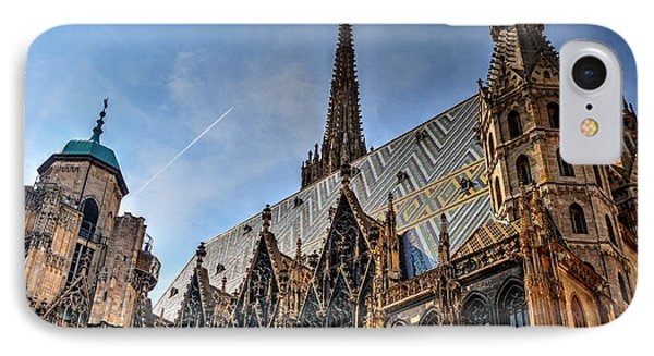 IPhone Case featuring the photograph St. Stephen's Cathedral by Joe  Ng