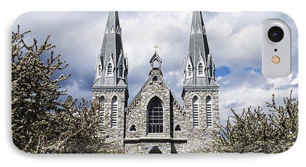 St. Thomas Of Villanova 2 IPhone Case by Judy Wolinsky