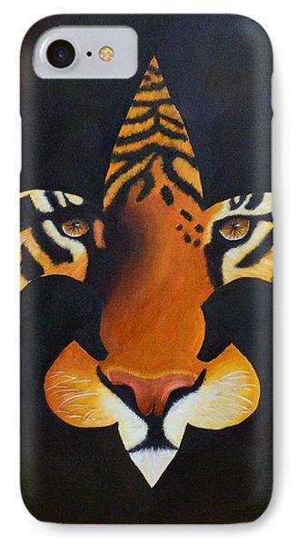 St. Tiger Phone Case by Nina Stephens