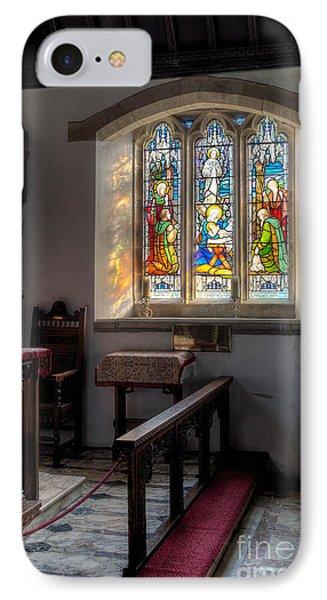 St Tysilio Window  Phone Case by Adrian Evans