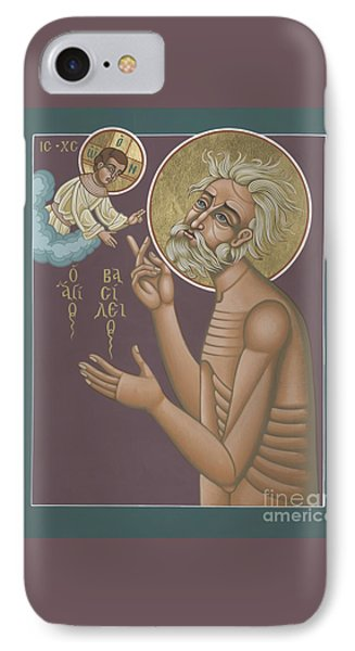IPhone Case featuring the painting St. Vasily The Holy Fool 246 by William Hart McNichols