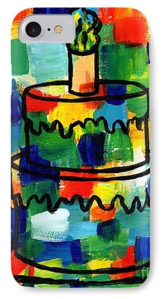 Stl250 Birthday Cake Abstract IPhone Case