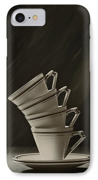 Stack Of Cups Phone Case by Amanda Elwell