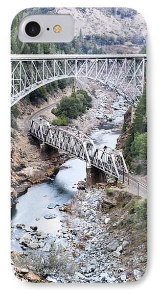 Stacked Bridges IPhone Case by Holly Blunkall