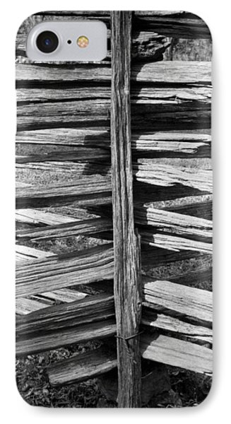 Stacked Fence IPhone Case by Lynn Palmer