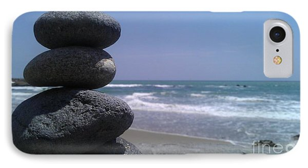 Stacked Rocks IPhone Case by Chris Tarpening