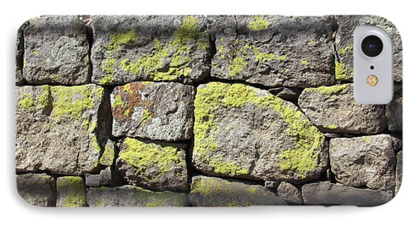 Stacked Stone Wall IPhone Case by Bonnie Muir