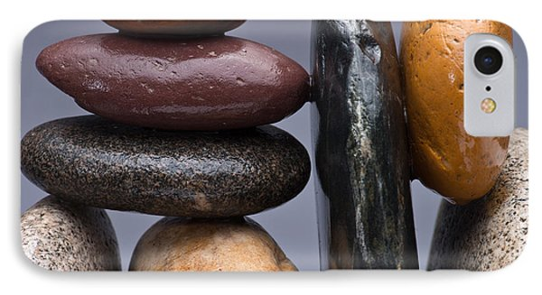 Stacked Stones 2 Phone Case by Steve Gadomski