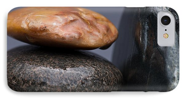 Stacked Stones 3 Phone Case by Steve Gadomski