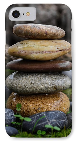 Stacked Stones A4 IPhone Case by Marco Oliveira