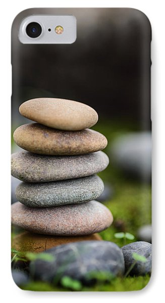 Stacked Stones B2 IPhone Case by Marco Oliveira