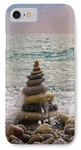 Stacking Stones Phone Case by Stelios Kleanthous