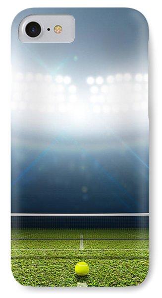 Stadium And Tennis Court IPhone Case