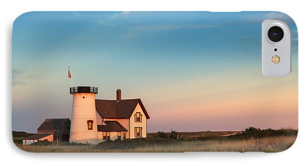 Stage Harbor Lighthouse Phone Case by Bill Wakeley