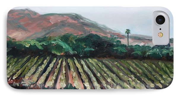 Stag's Leap Vineyard IPhone Case by Donna Tuten