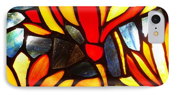 Stained Glass Eight IPhone Case