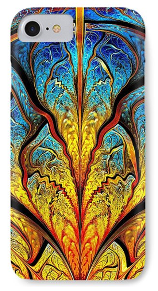 Stained Glass Expression IPhone Case