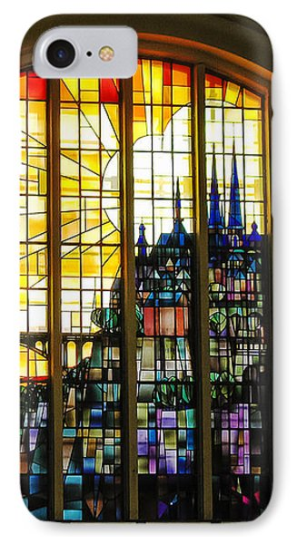 Stained Glass Luxembourg IPhone Case