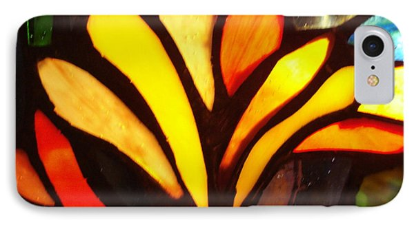 Stained Glass Six IPhone Case