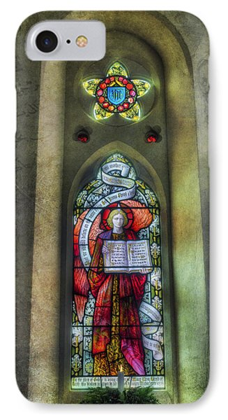 Stained Glass Window Art Phone Case by Ian Mitchell