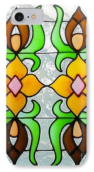 IPhone Case featuring the photograph Stained Glass Window by Janette Boyd