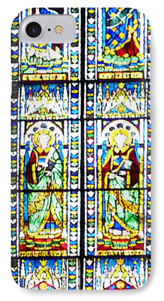 Stained Glass Window Of Duomo Santa Maria Del Fiore IPhone Case