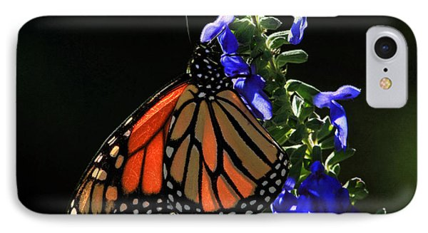 Stained Glass Wings IPhone Case by Donna Kennedy