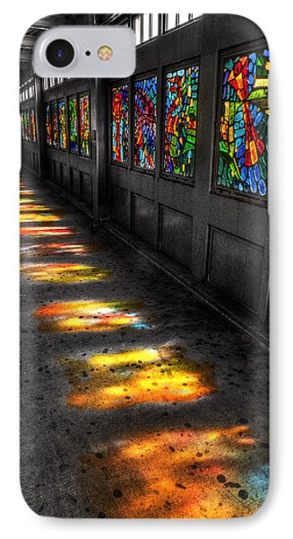 Stains In The Path IPhone Case by William Fields