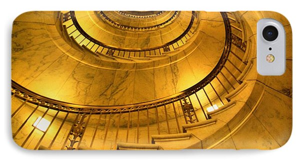 Stair Way To Justice IPhone Case by John S