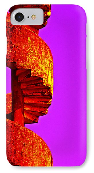 IPhone Case featuring the photograph Staircase Abstract by Dennis Cox WorldViews
