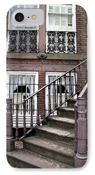 Staircase And Shutters Phone Case by Linda Ryan
