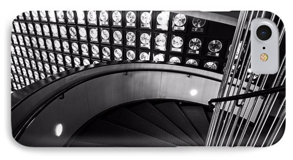 Staircase In Black And White IPhone Case