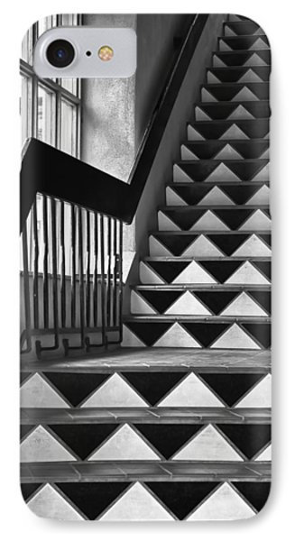 IPhone Case featuring the photograph Staircase Santa Fe New Mexico by Ron White