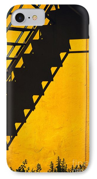 IPhone 7 Case featuring the photograph Staircase Shadow by Silvia Ganora
