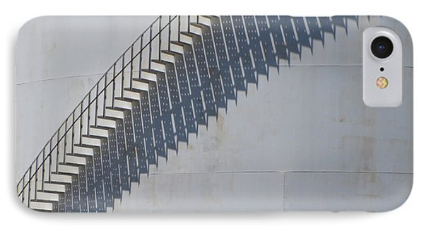 Stairs And Shadows 3 Phone Case by Anita Burgermeister