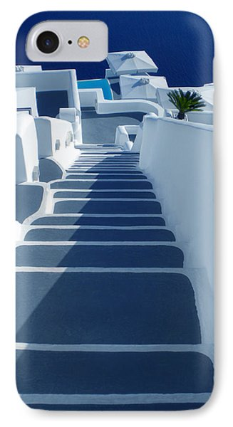 Stairs Down To Ocean Santorini IPhone Case