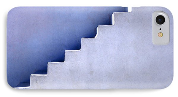 Stairs In Santorini Phone Case by Bob Christopher