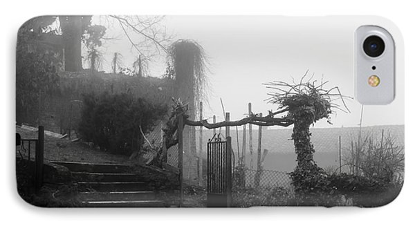 Stairs In The Fog IPhone Case