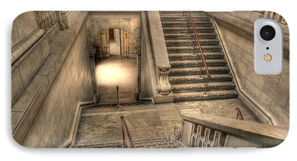 Stairs Up And Down Phone Case by David Bearden