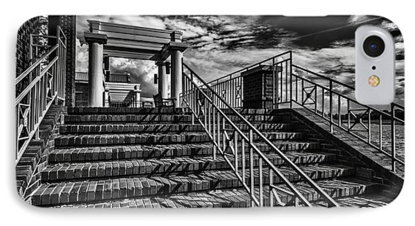 Stairway At Montgomery Museum Of Fine Arts IPhone Case by Danny Hooks