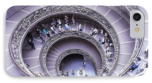 Stairway In Vatican Museum IPhone Case