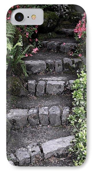 Stairway Path To Gardens Phone Case by Athena Mckinzie