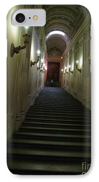 IPhone Case featuring the photograph Stairway  by Robin Maria Pedrero