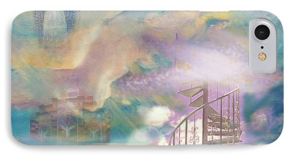 Stairway To Heaven Phone Case by Anne Cameron Cutri