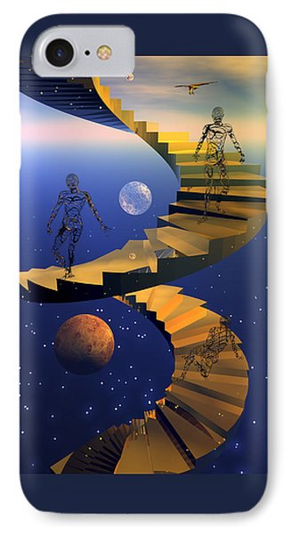Stairway To Imagination IPhone Case