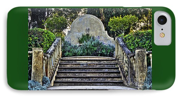 Stairway To Nowhere Phone Case by Kaye Menner