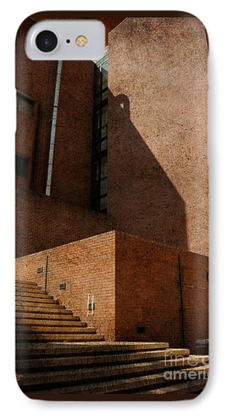 Stairway To Nowhere IPhone Case by Lois Bryan
