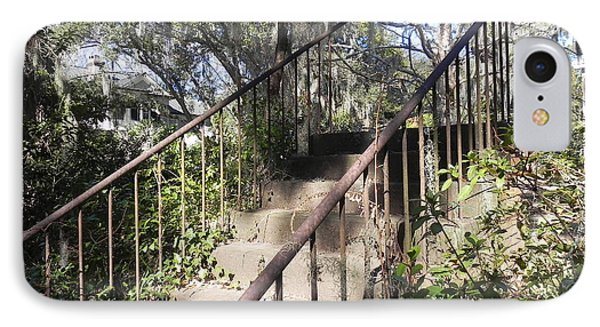 IPhone Case featuring the photograph Stairway To Nowhere by Patricia Greer