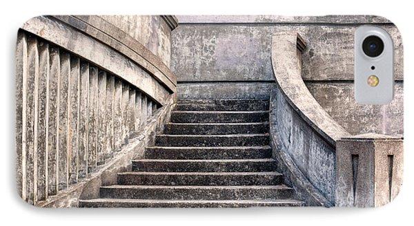 Stairway To The Unknown Phone Case by Sandra Bronstein